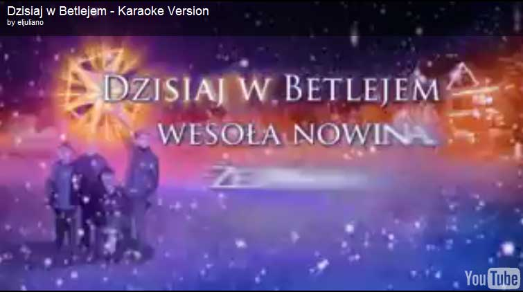 Koledy Polish Christmas Carols Karaoke Version