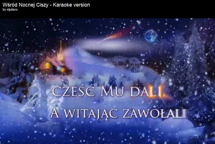 Polish Christmas carol Wśród Nocnej Ciszy