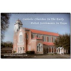 Beautiful Polish Texas Catholic Church Calendar